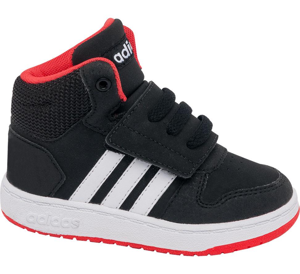 Deichmann scarpe adidas i ragazzacci adidas basket mid formatori rosso