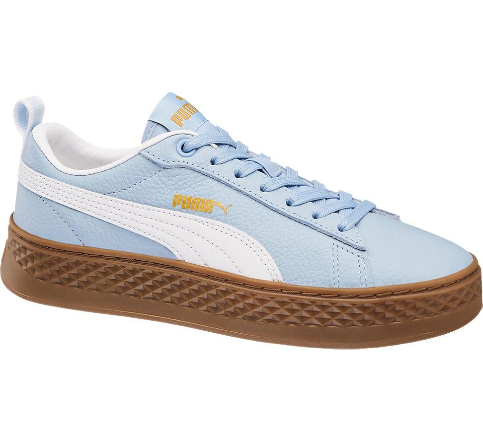 d2715ed12a0322 Puma Damen Sneaker Smash Platform Varsity blau Neu
