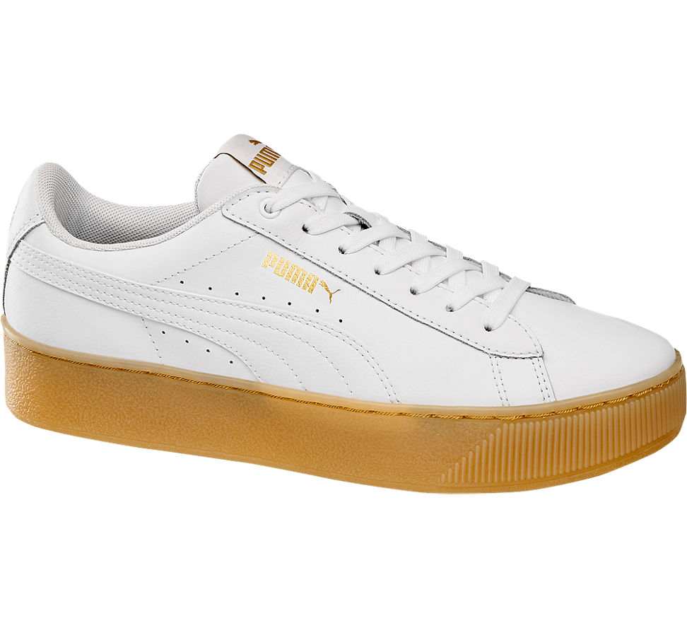 Deichmann SALE | Damen Puma Puma Sneaker VIKKY PLATFORM METAL grau
