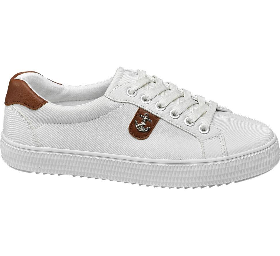 33789e156f2f7a Graceland Damen Sneaker weiß Neu