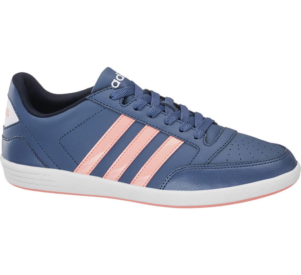 Details zu Adidas Damen Sneaker VL HOOPS LOW blau Neu