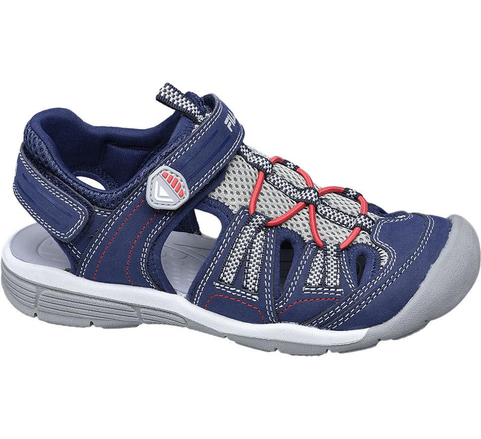 Details zu Fila Jungen Trekking Sandale blau Neu