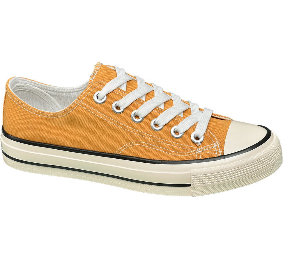 Details zu Vty Damen Sneaker gelb Neu