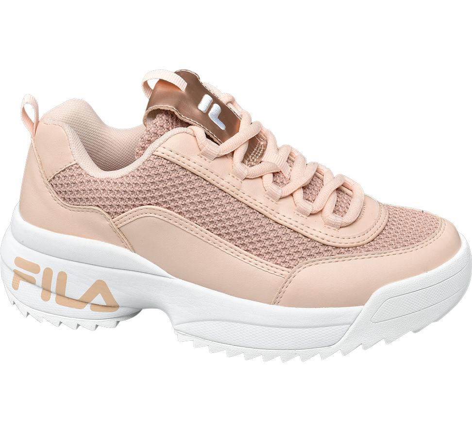 Details zu Fila Damen Chunky Sneaker beige Neu