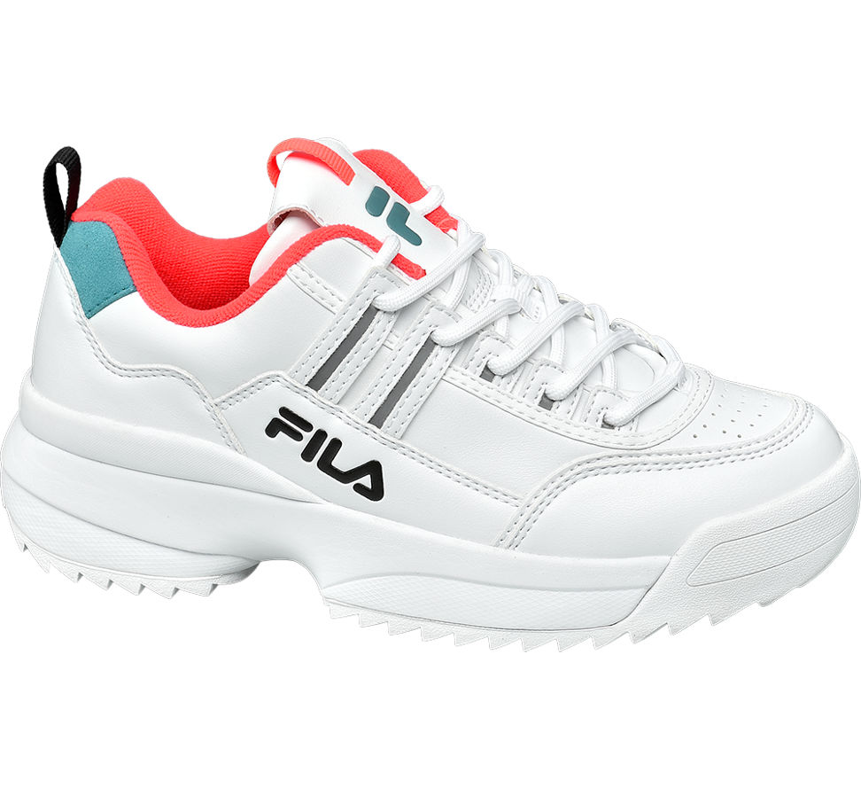 Details zu Fila Damen Chunky Sneaker weiß Neu