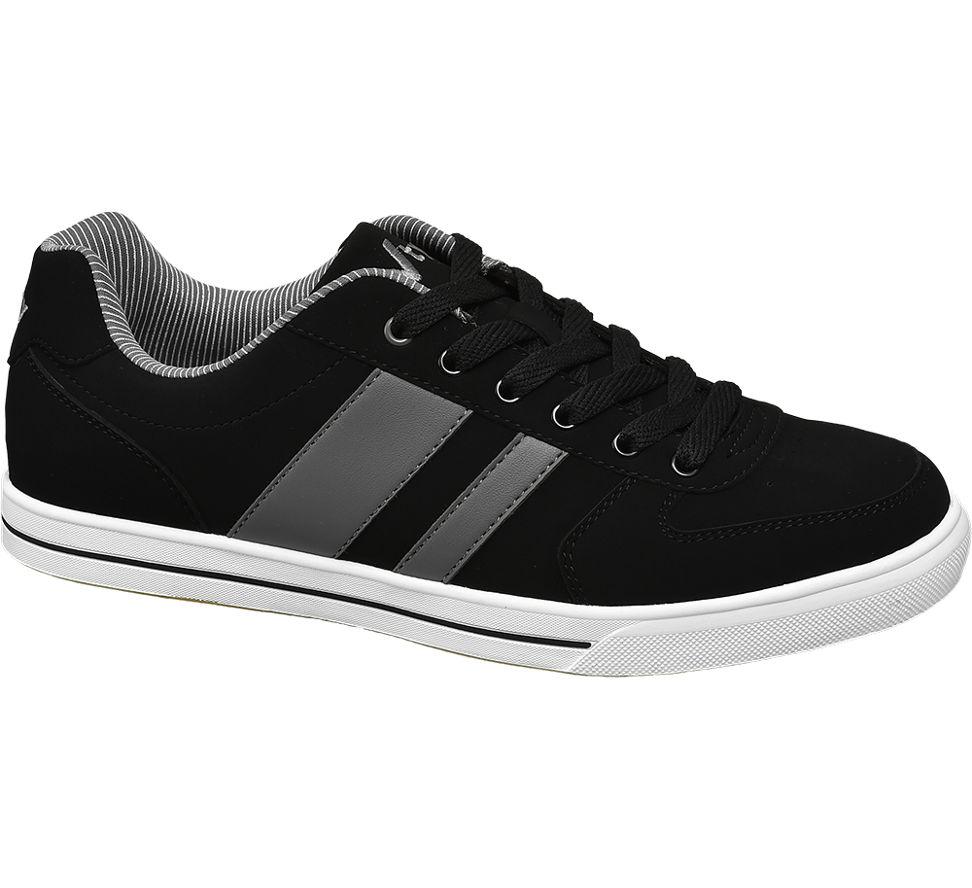Details zu Vty Herren Sneaker schwarz Neu