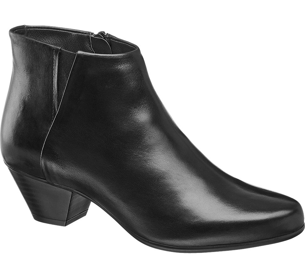 Details zu 5th Avenue Damen Stiefelette schwarz Neu