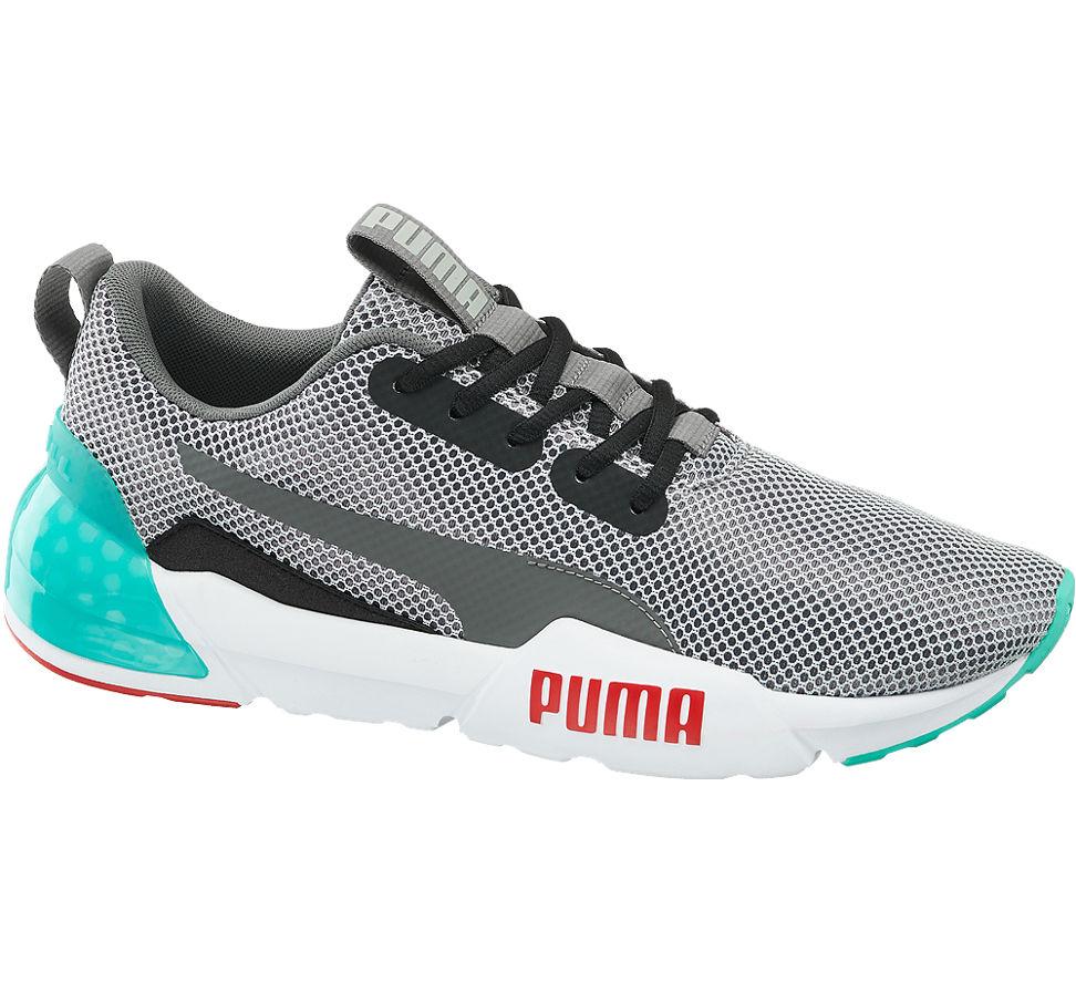 Details zu Puma Herren Laufschuh Cell Vorto grau Neu