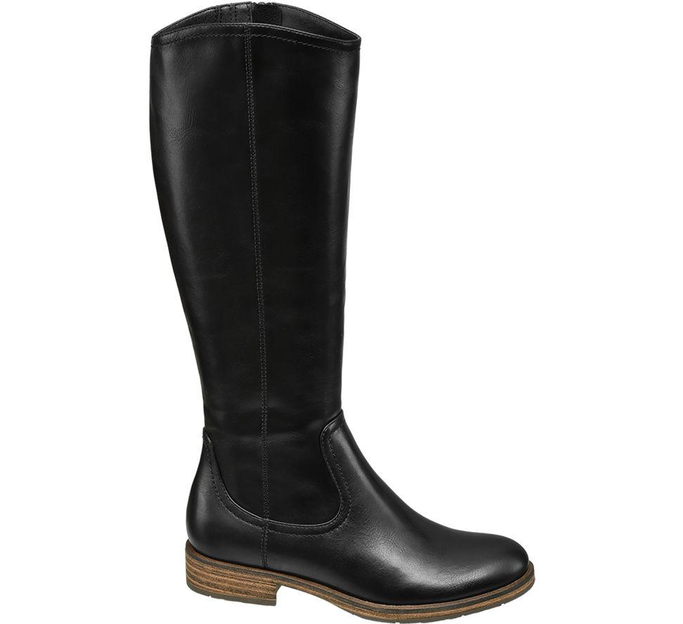 Neu Deichmann Graceland Damen Stiefel Schuhe Absatz Größe 38
