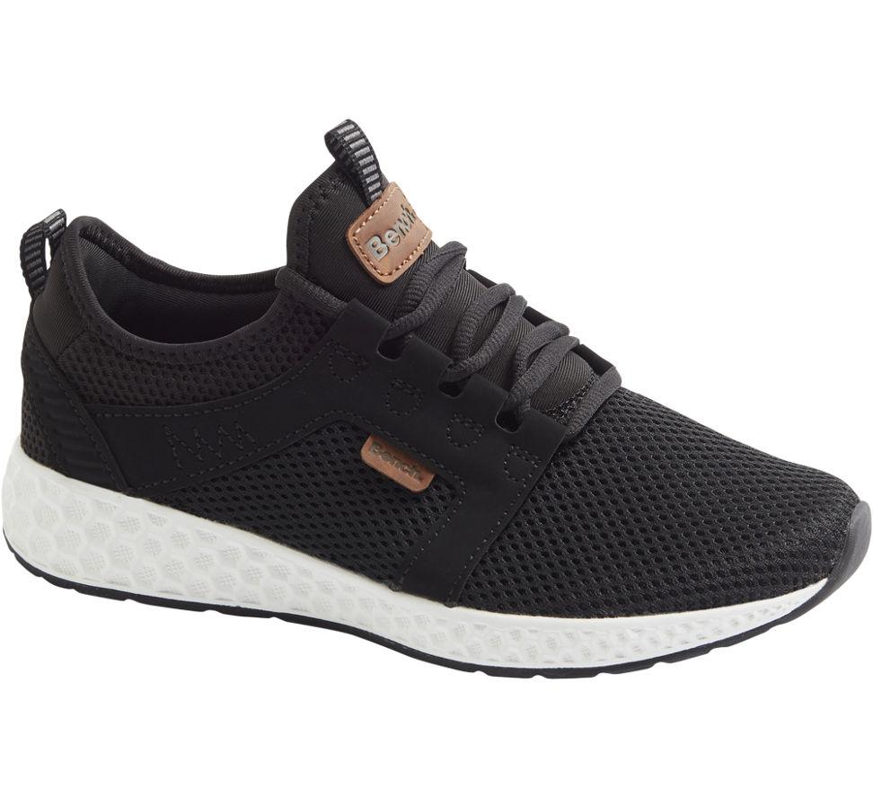 Neu Damen Details Sneaker Schwarz Bench Zu xeWrdoCBQ