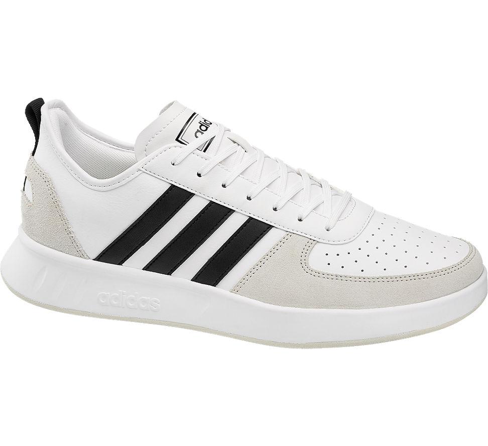 Details zu Adidas Herren Sneaker COURT 80S weiß Neu