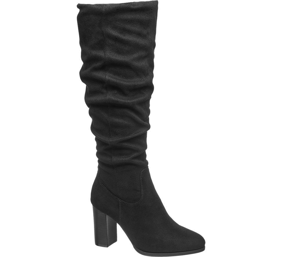 Details zu MEXX Damen Stiefel schwarz Neu