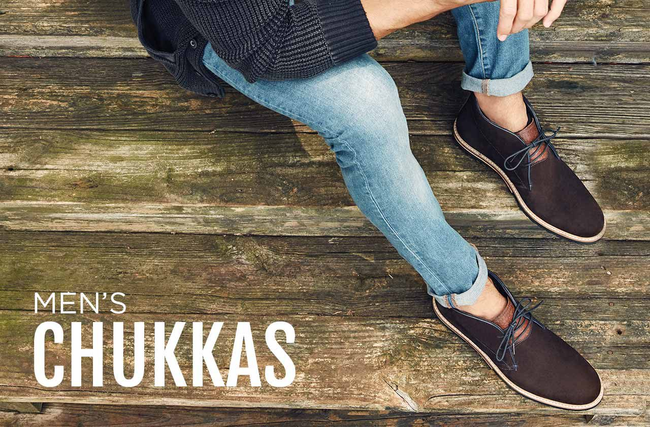 SHOP MEN'S CHUKKAS