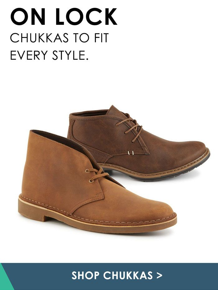 Off Broadway Shoes. Men. Shop Chukkas!