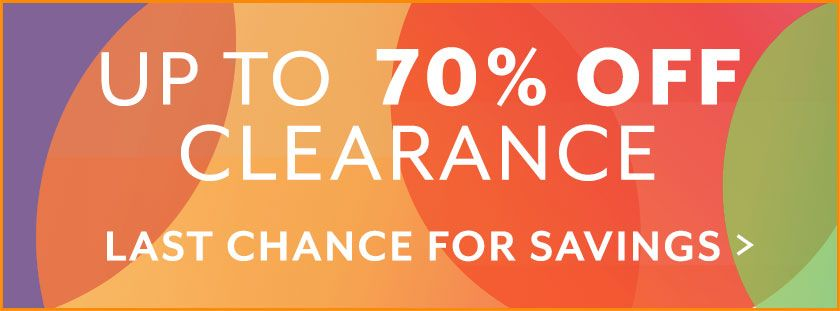 Clearance up to 70%. Show Now.